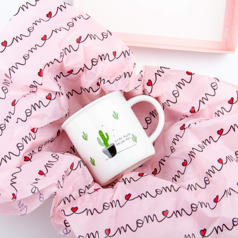 Stampa Avocado Carina Con Carta Da Regalo Sfusa Per Imballaggio Artigianato Fai Da Te RUSPEPA Carta Velina Per Confezioni Regalo 50 X 70 cm 24 Fogli
