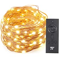 TaoTronics 200-LED 66-Foot String Lights with RF Remote Control