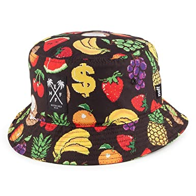 Neff Hats Hard Fruit Bucket Hat - Multi-Coloured 1-Size  Amazon.co ... 87b062d7307