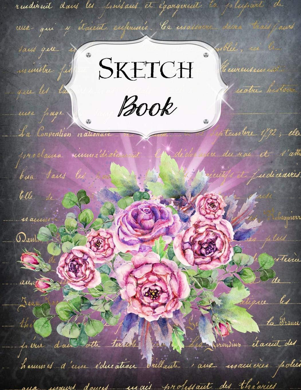 Sketch Book: Rose | Sketchbook | Scetchpad for Drawing or Doodling