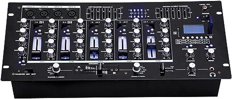 BST ACTIV218 - Mesa de mezclas 6 canales USB, SD, Bluetooth ...
