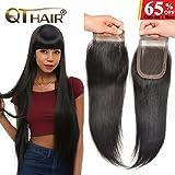 QTHAIR 8a Indian Straight Hair Bundles 100% Unprocessed Virgin Brazilian Virgin Human Hair Weft Natural Color 8-28inch