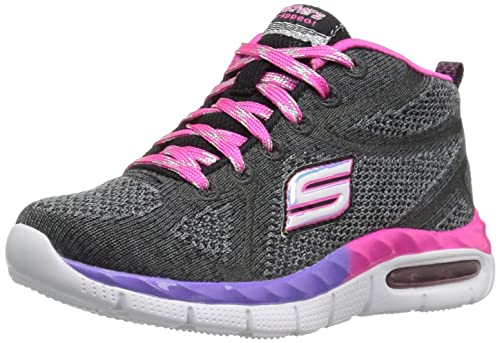 Skechers Air Appeal Breezin' By, Scarpe da Ginnastica Alte Bambina