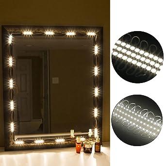 Mirror Light Kit LinkStyle 10FT Vanity Make up Light DIY LED Light Kits  Dressing Mirror. Mirror Light Kit LinkStyle 10FT Vanity Make up Light DIY LED Light