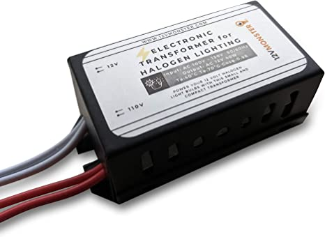 Amazon Com 40 Watt Low Voltage Xenon Transformer 40w In Input 120v To Output 12v Halogen Light Bulb Power Supply 12 Volt G4 Mr11 Mr16 Lamp Driver Ballast Spot Landscape Rail Ceiling Wiring