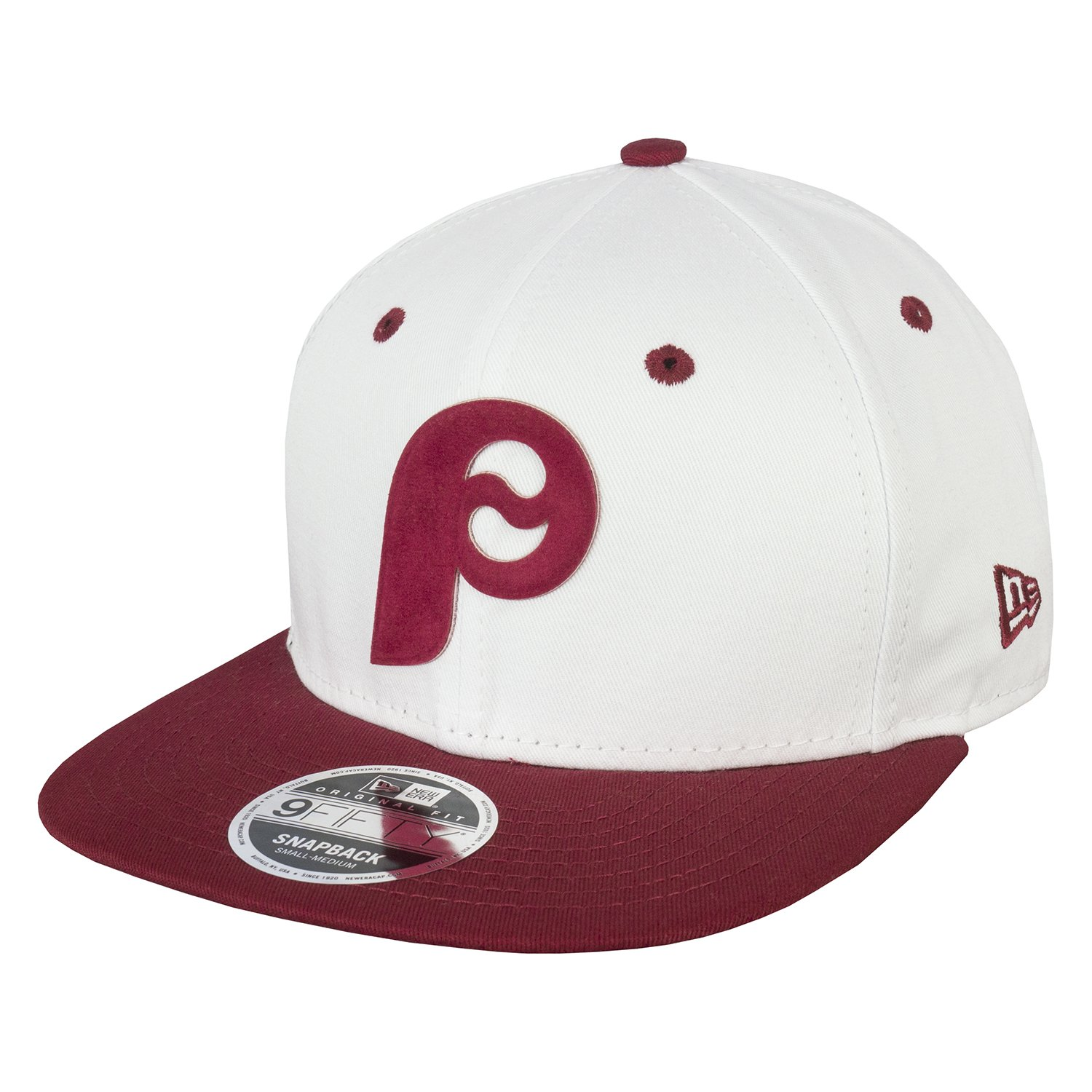 88e41fdca0e New Era 9FIFTY MLB Flock Logo Philadelphia Phillies Snapback Cap   Amazon.co.uk  Clothing