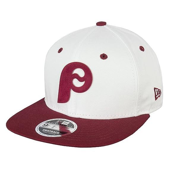 bc7c28bff81 New Era 9FIFTY MLB Flock Logo Philadelphia Phillies Snapback Cap  Amazon.co. uk  Clothing