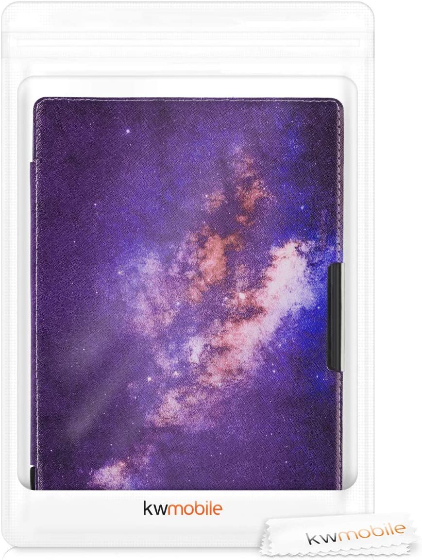 Book Style PU Leather Protective e-Reader Cover Folio Case Starry Galaxy Light Pink//Dark Pink//Dark Blue kwmobile Case for Pocketbook InkPad 3//3 Pro