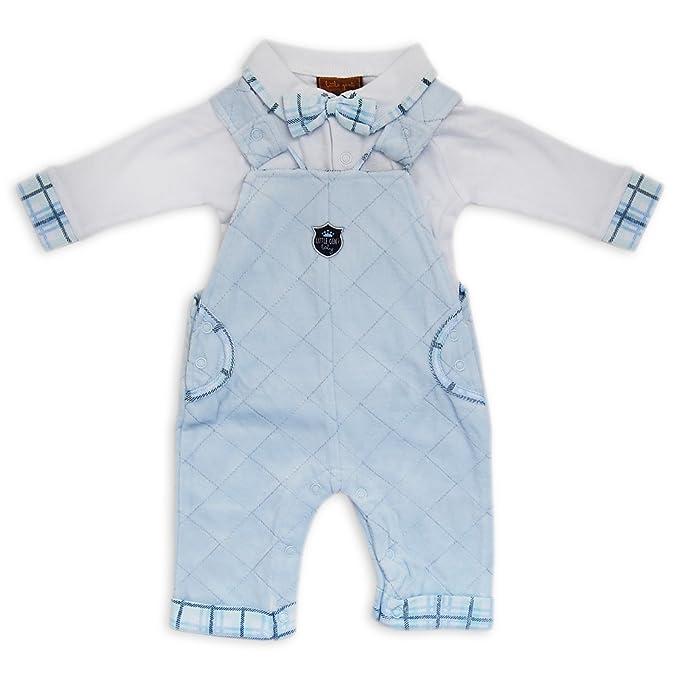 Bebé recién nacido 2 Piece Boutique estilo Set para niños terciopelo ...