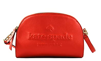 2c3379044c1 Kate Spade Tori Larchmont Avenue Logo Leather Women's Small Crossbody Bag  Purse Handbag (Picnic Red