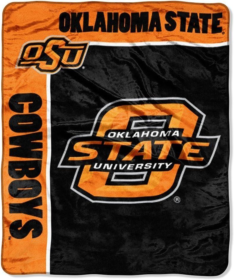50 x 60 Officially Licensed NCAA School Spirit Plush Raschel Throw Blanket Multi Color