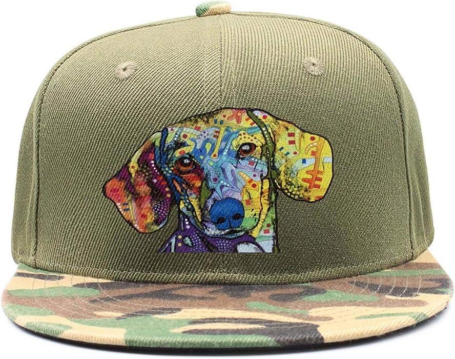 92df42fb0fd67 Man Aniaml Colorful Dog Head Fashion Baseball Cap Snapback Hats at Amazon  Men s Clothing store