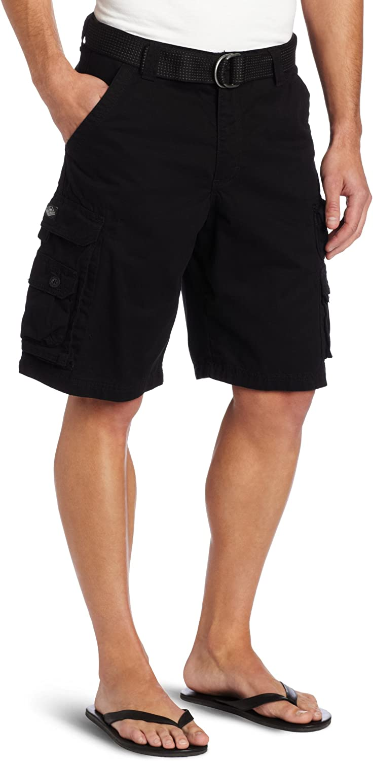 LEE Mens Big /& Tall Dungarees Belted Wyoming Cargo Short