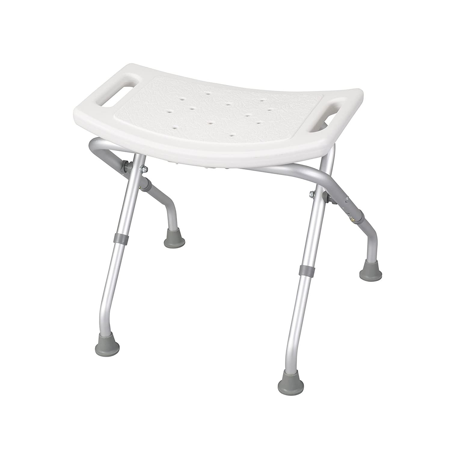 Amazon Drive Medical Deluxe Folding Bath Bench White Health