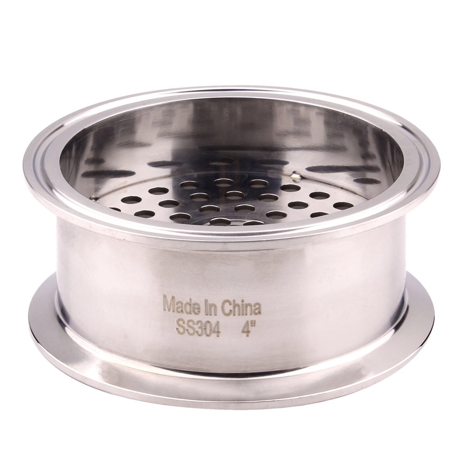1.5 Tri Clamp Size DERNORD Tri Clamp Filter Plate High Pressure Sanitary Fitting with 6mm Holes