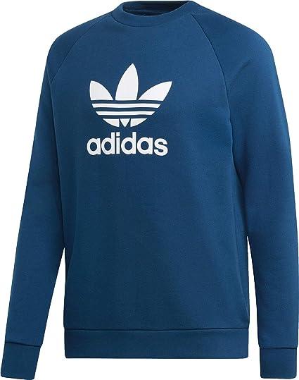 adidas Trefoil Crew Sweatshirt, Hombre, Legend Marine, S