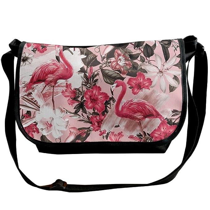 Amazon.com: Flamenco y Floral Crossbody Bolsas portafolios ...