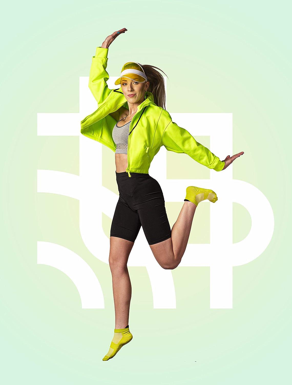 SKOKSY Donna Uomo Extreme ABS Design Sneaker Sportivi di Cotone