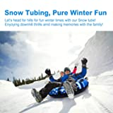 A-DUDU Snow Tube - Air Tube 39 Inch Inflatable