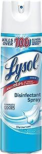 Lysol Disinfectant Spray, Crisp Linen, 19 oz, 3 Count