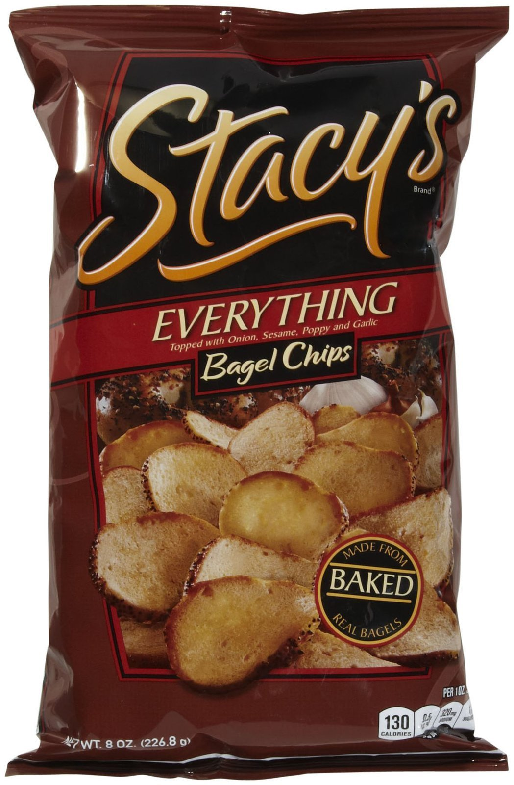 Stacy's Pita Chips Everything Bagel Chips - 8 oz by Stacy's