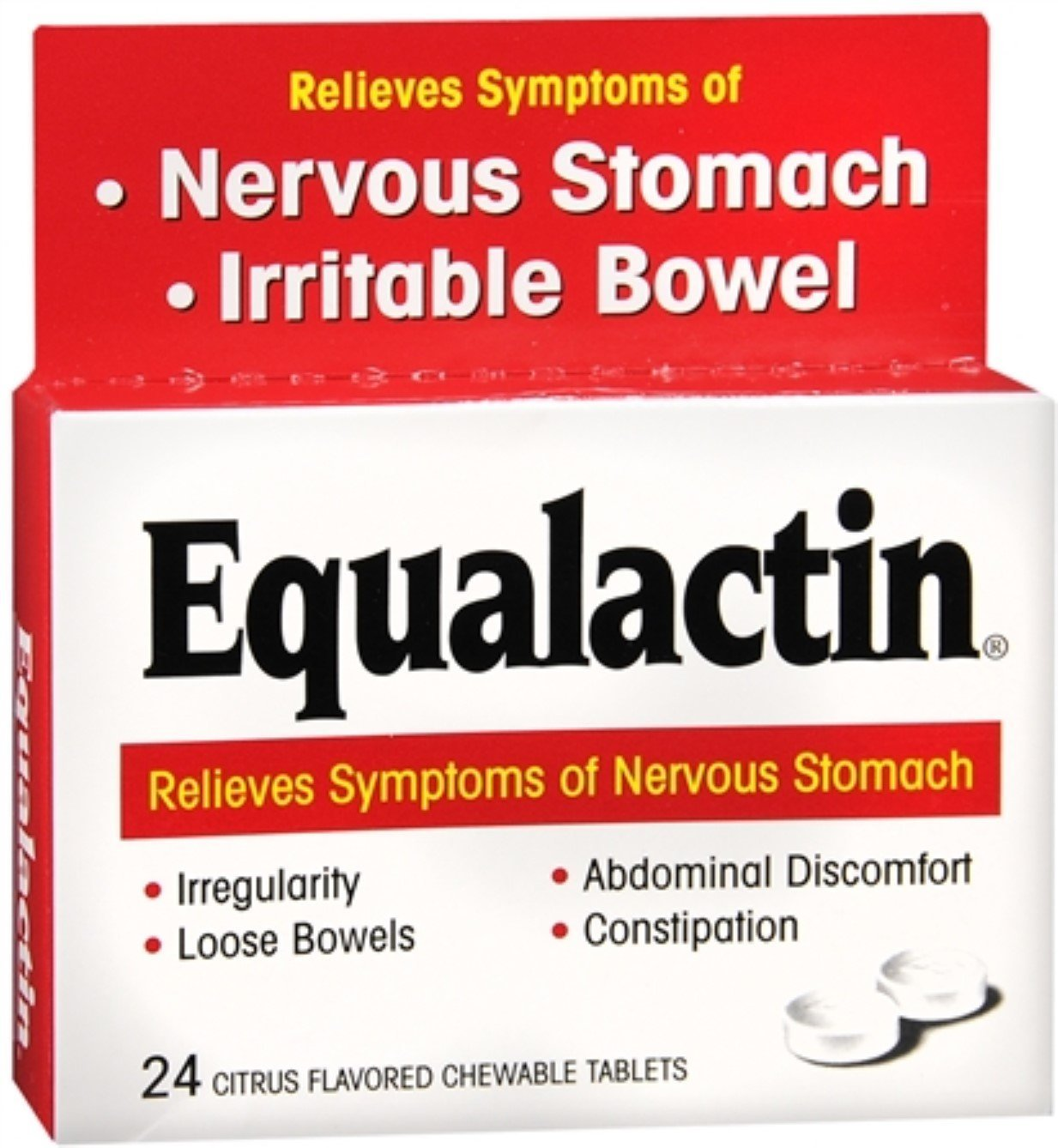 Equalactin Chewable 24 Tablets by Equalactin