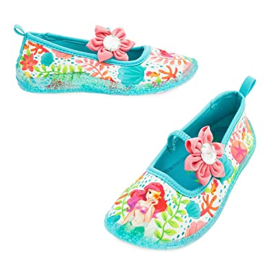 Shop Disney Ariel Little Mermaid Swim Shoes For Girls