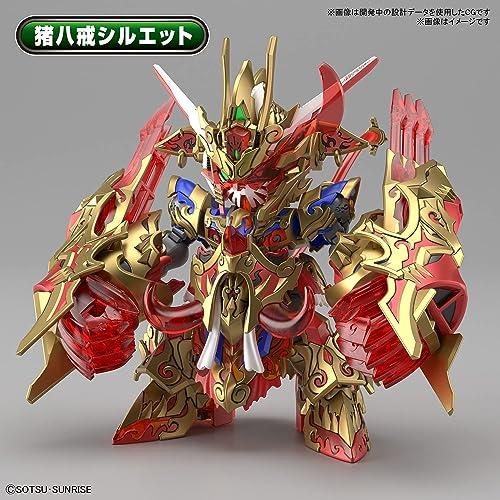 SDW HEROES 悟空インパルスガンダムDXセット 色分け済みプラモデル