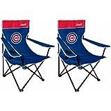MLB Chicago Cubs Broadband Quad Chair (2 Pack)