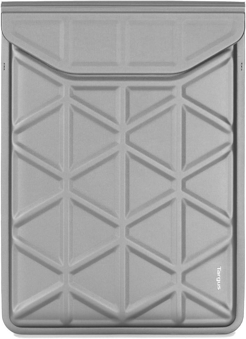 Targus Pro-Tek Case 11.6-13.3-Inch Laptop Sleeve for 2 in 1's MacBook, 12-Inch Air & Pro 13-Inch, Silver (TSS93311EU)