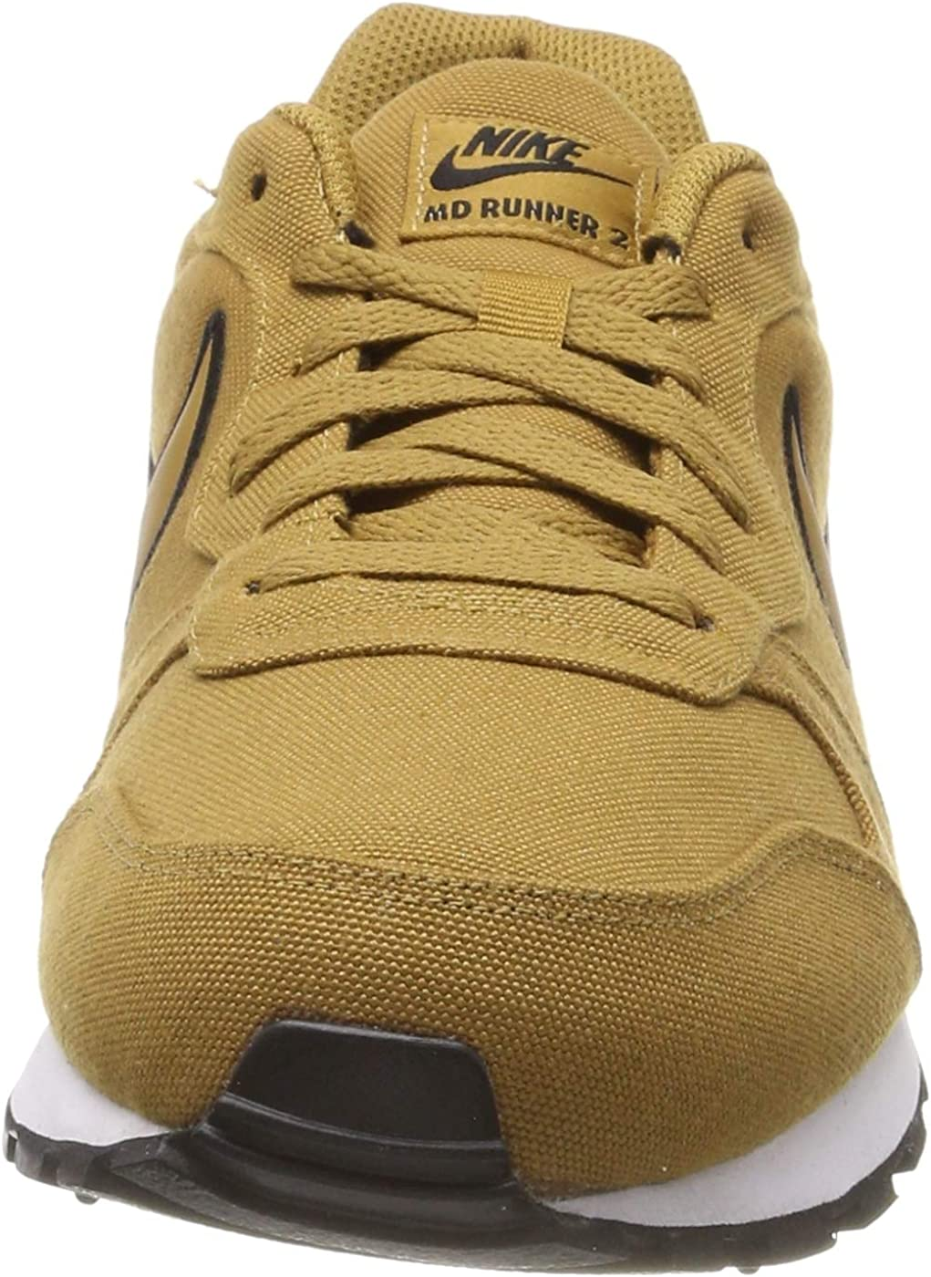 Nike MD Runner 2 Se, Sneakers Basses Homme Multicolore Muted Bronze Muted Bronze Yellow Ochre 001