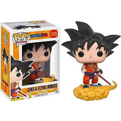 Funko Pop Animation Dragonball Orange Suit Goku and Flying Nimbus Exclusive Vinyl Figure: Toys & Games