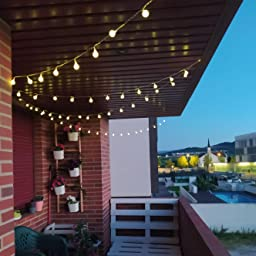 Guirnalda Luces, Tomshine 13M 100LED Luz de Cadena de Globo con Control Remoto, 8 Modos de Iluminación Diferentes, Brillo Ajustable perfecto para la Decoración de la Boda del Fiesta de Navidad: Amazon.es: