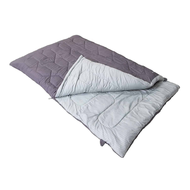 sale retailer f8ca7 e3bdf Vango Serenity Double Sleeping Bag Shadow Grey: Amazon.co.uk ...