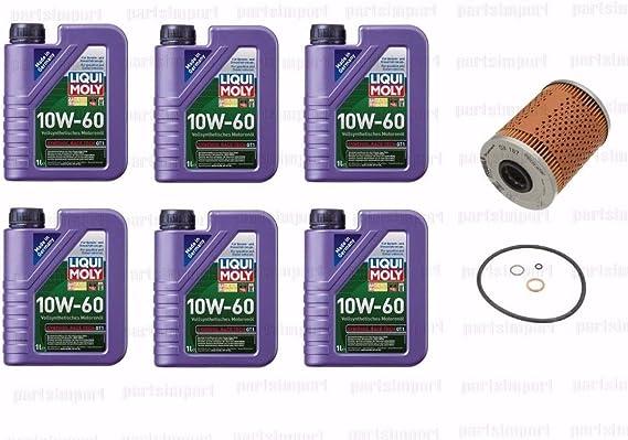 For BMW E36 E46 M3 Z3 Z4 Engine Motor Oil Filter kit w// O-Ring Mahle OEM