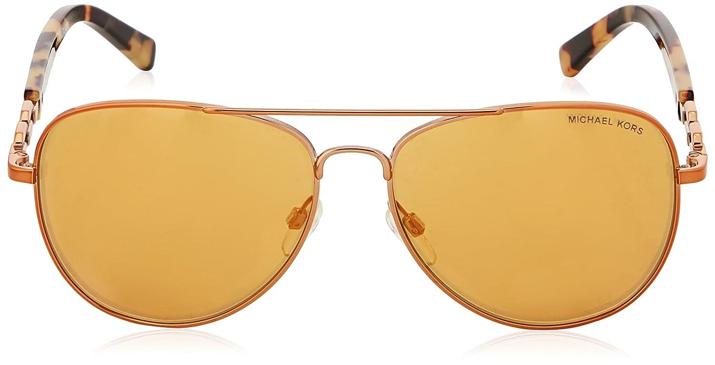 Michael Kors Women s 0Mk Fiji 10915N Sunglasses, Copper Orange Flash, 58   Amazon.co.uk  Clothing f4fa6e61c28b