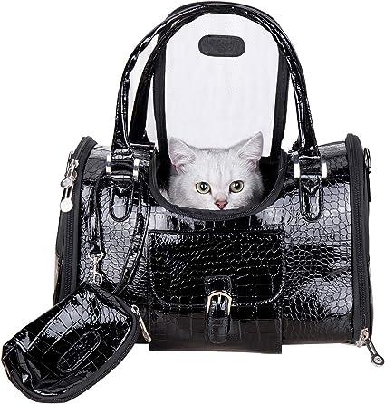 Hillwest Fashion PU Leather Dog Purse - Additional Storage Pockets