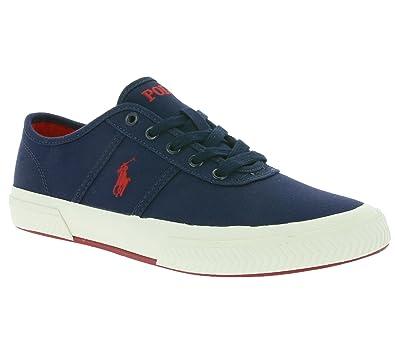 936ae7f4181d6 Ralph Lauren basket tyrian bleu marine  Amazon.fr  Chaussures et Sacs