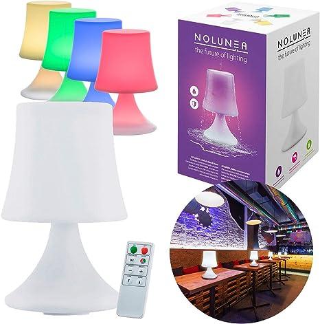 Lampada Da Tavolo A Led Impermeabile Lampada Da Esterno Con Telecomando E Cambio Colore Senza Fili Con Batteria Amazon It Illuminazione