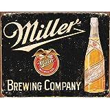 Miller Brewing Vintage Tin Sign , 16x12