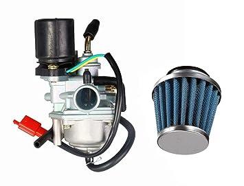 Amazon.com: VORIPO Carburador y filtro de aire para Triton ...