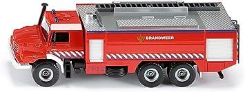 Siku 1:50 Mercedes Zetros Brandweer Niederlande