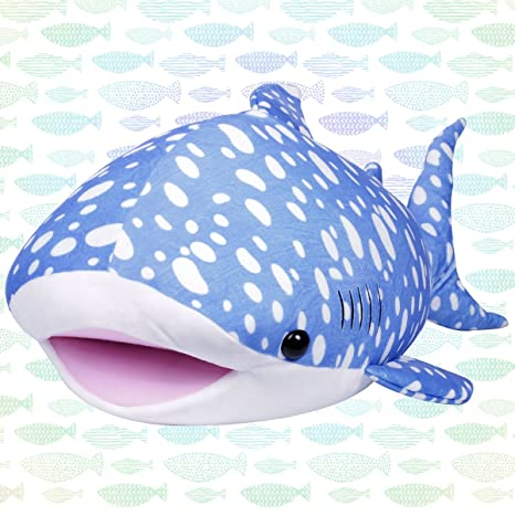 LALA HOME 28 Whale Shark Plush | Large Stuffed Animal | Neat Soft Shark
