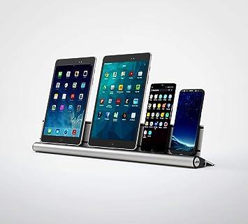 udoq 550 Apple USB Ladestation/Docking Station/Schiene für 4 Apple  Mobilgeräte L Kabeln, beliebig erweiterbar für weitere Smartphones,  Tablets, ...
