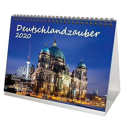 Calendario de mesa de Alemania DIN A5, 2020, set de regalo de ...