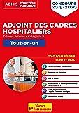 Concours Adjoint des cadres hospitaliers - Tout-en-un - Catégorie B - Concours 2019-2020