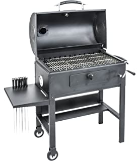 blackstone 3in1 kabob charcoal grill barbecue smoker with automatic