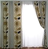スミノエ 遮光カーテン サンフラワー 100×178cm アイボリー 1枚入 V1210