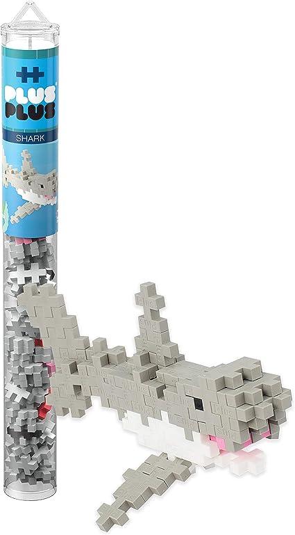 PLUS PLUS Construction Building Stem Toy Cow In 70 Piece Mini Maker Tube