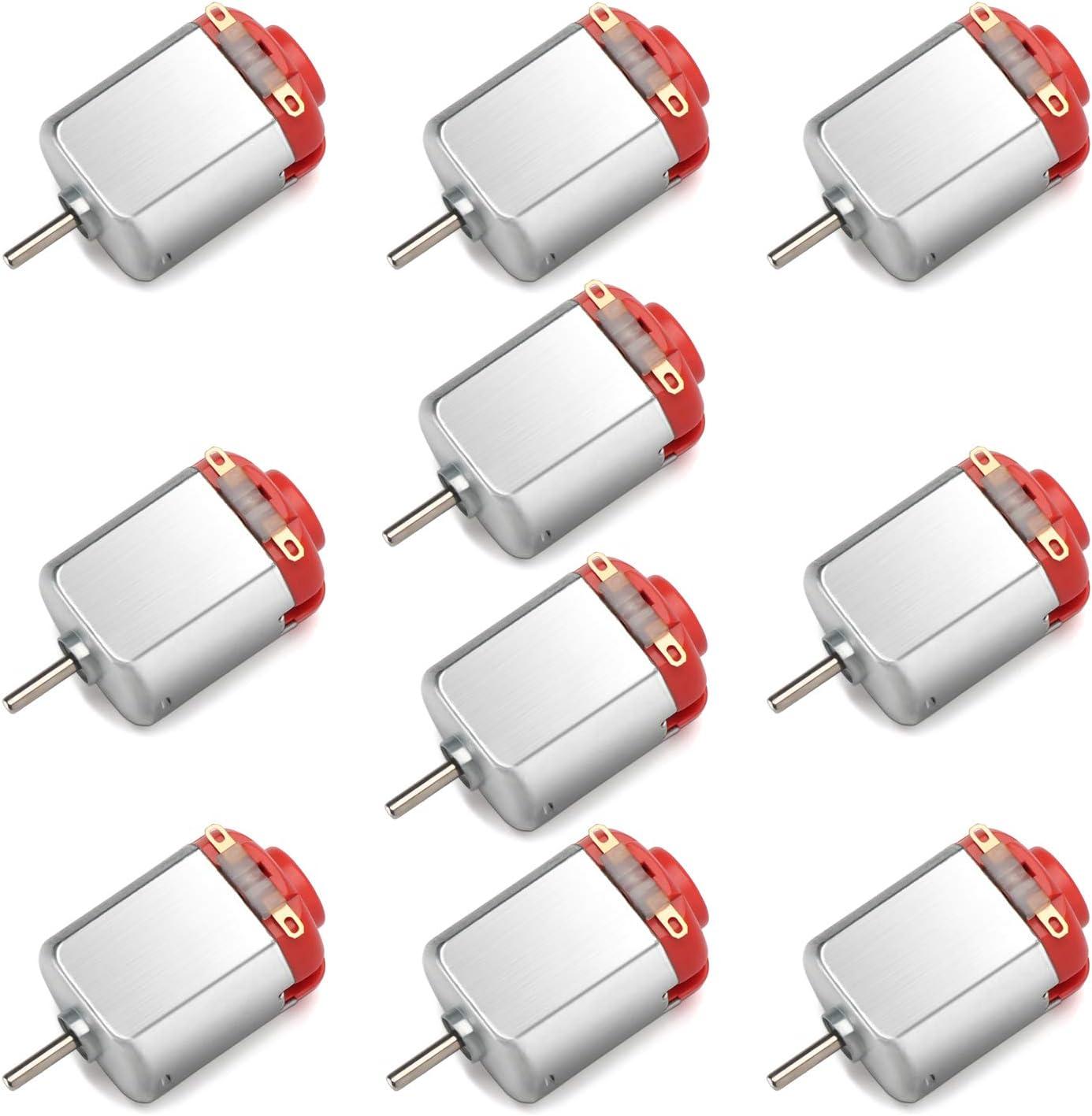ILS 10 Pieces 130 Micro Motor DC 3V-6V 8000rpm
